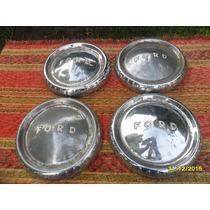 Lote De 4 Antiguas Tazas De Ford