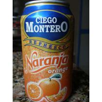 Lata De Gaseosa Cola Cubana Naranja Ciego Montero