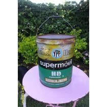 Antigua Lata De 20 Litros De Aceite Ypf Supermovil