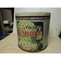 Antigua Lata De Pan Dulce Panettone Canale Almendrado