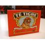 Antigua Caja Cartón Sin Abrir Te Tigre Década 70
