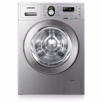 Lavarropas Samsung Wf1904 Plata Silver 9 Kg 1400 Rpm 14prg