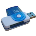 Lector De Memorias Usb 15 En 1 Sd Mmc Sd Micro Sd Celulares