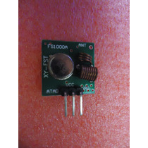 Modulo Rf Transmisor Y Receptor 433 Mhz Arduino Robotica Pic