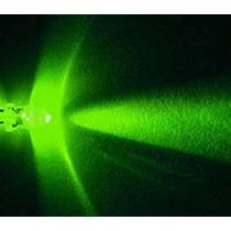 1000 Leds Verdes 5mm 15000mcd, Alta Luminosidad Cristalinos