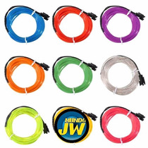 Hilo De Neon Led (el Wire) C/ Inverter 12v Tuning 3 Metros
