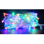 Luces Navidad Led X100 Luz Multicolor Cristal 8m 8 Efec Caja