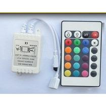 Controladora Para Rgb C/control Remoto De 24 Teclas