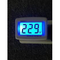 Voltimetro Digital 220 V Ca Enchufable Envío Gratis!