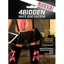 Medias Secretary Secretaria 4bidden Código 343 Sex Shop