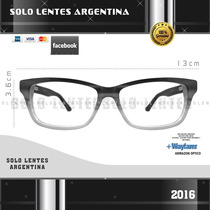 Anteojos Ópticos Excelente Calidad Acetato Italiano Unisex