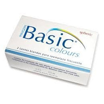 Lentes De Contacto Basic De Waicon Tri- Kolor