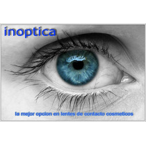 Lentes De Contacto Anuales Tricolor + Kit + Garantia