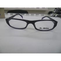 Anteojos Armazones De Receta Ibiza Mod. 037 Negro