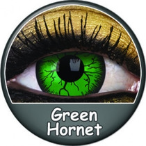 Lentes De Contacto Fantasia Verdes Fx Green Harnet
