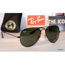 Anteojos Ray Ban Aviator Rb3025 Rb3026 Originales 50% Off!