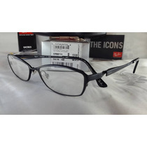 Anteojos Marco Lectura Ray Ban Rb 8711 Titanium 40%0ff