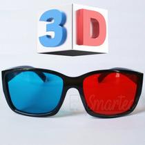 Lentes Anteojos 3d Universales Rojo & Cyan Nuevo Modelo 2016