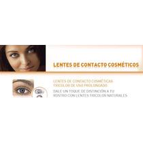 Lentes De Contacto Tricolor Cosmeticos De Uso Prolongado