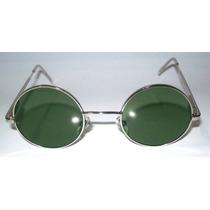 Anteojos Sol Lennon Redondos Organico O Vidrio Filtro Uv 400
