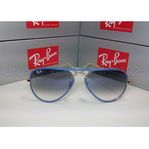 Anteojos De Sol Ray Ban Aviator Full Color 40%off