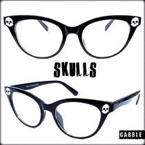 Armazones Importados Anteojos Gatubelos Retro Skulls Punk