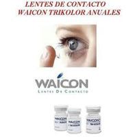 Lentes De Contacto Waicon Tri-kolor Duración 2 Años