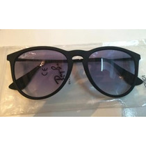 Lentes Ray Ban Erika Rb 4171 54mm Medium Carey Negro