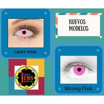 Lentes De Contacto Rosa (modelo Claro Y Oscuro)
