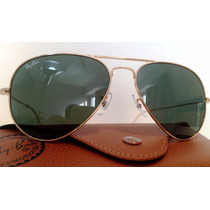 Lentes Sol Ray Ban Aviator Rb 3025 3026 Italianos