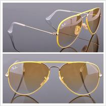 Anteojos Lentes Ray Ban Rb 3025 Jm 001/x4 Full Yellow 50%0ff