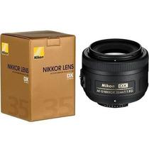 Lente Nikon Af-s Dx Nikkor 35mm F/1.8g D3100 D5100 D7000