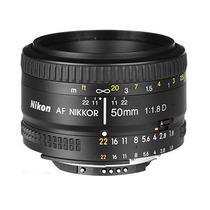 Lente Objetivo Fijo Nikon Nikkor 50mm F/1.8d Af Reflex Gtia!