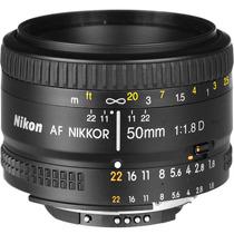 Lente Objetivo Fijo Nikon Nikkor 50 Mm F/1.8d Af Reflex Gtia