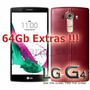 Lg4 H815 Cuero 32gb Lte 3gb Ram + 64gb Extras - Iphone Sony