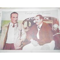 Poster Antiguo Eusebio Marcilla Caballeros Del Camino Junin
