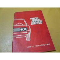 Fiat 124 Sport Coupe Manual Original Usuario