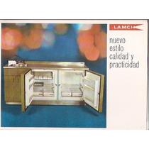 Antiguo Folleto Tipo Catalogo Lamch Muebles De Cocina
