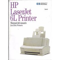 Libro Hp Laserjet 5l Printer Manual Del Usuario Año 1997