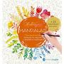 Libro Mandalas Arterapia Concentracion Para Pintar V. Crespo