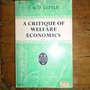 A Critique Of Welfare Economics. I.m.d. Little