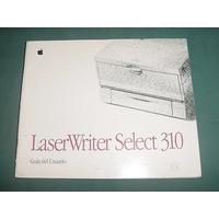 Apple Guia Manuel Usuario Impresora Laser Writer Select 310