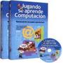 Libro: Jugando Se Aprende Computación 2 Tomos + Cd - Clasa