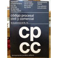 Libro Derecho, Codigo Procesal Civil Comercial,pcia Bs As