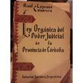 Ley Organica Poder Judicial De La Provincia De Córdoba 1943