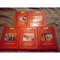 Lote 5 Libros London, Nervo, Bello, Shakespeare, Zorrilla
