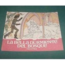 Libro Infantil La Bella Durmiente Del Bosque Viscontea 1984