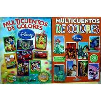 Libro Multicuentos De Colores Disney 1 Y 2 Barcel Baires