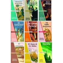 Lote X 9 Libros Friedrich Nietzsche - Nuevos - Filosofía