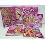 Barbie -hadas Y Princesas- 5 Libros+stickers+actividades-